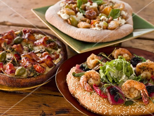 Three Assorted Artisan Pizzas