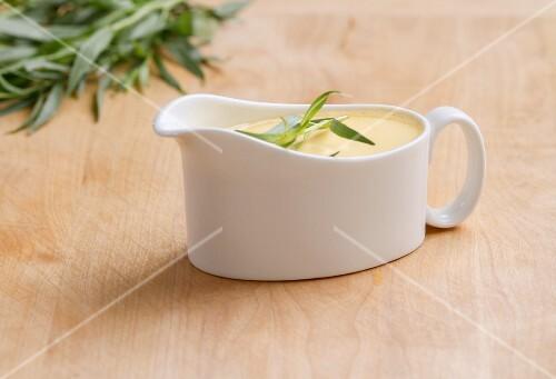 Sauce Hollandaise mit Estragon