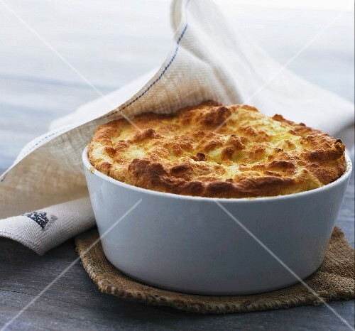 A vegetable souffle
