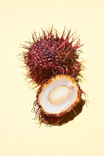 Cross Section of a Rambutan
