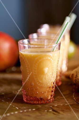 Mango lassi (Indian yogurt drink)