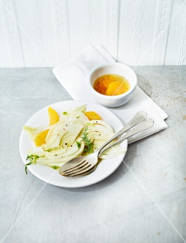 Fennel salad with oranges