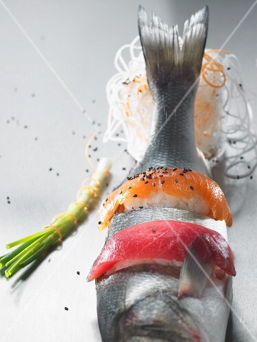A symbolic picture of sushi