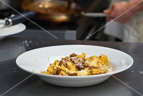 Pappardelle with pork ragout