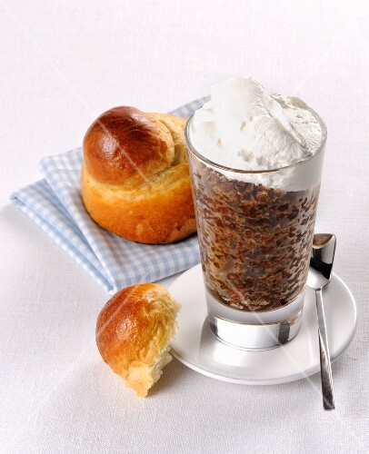Granita and brioche