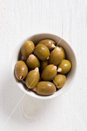 Greek olives filled with almonds
