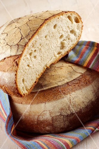 Pane pugliese (typical bread from Apulia, Italy)