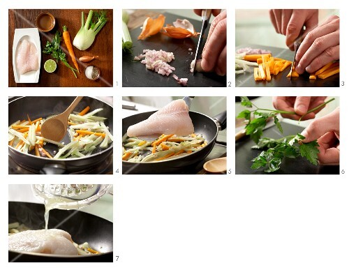 How to prepare steamed fillet of fish