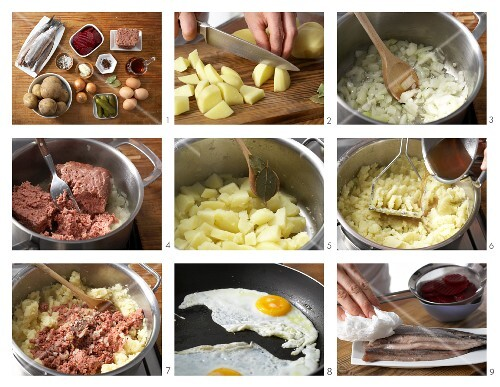 Lobscouse being made
