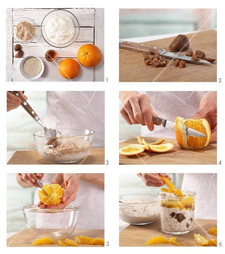 How to prepare fresh grain & fig muesli