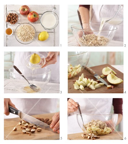 How to prepare Bircher muesli