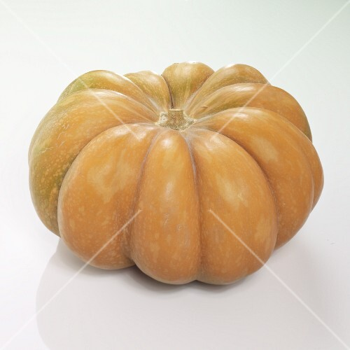 A whole Muscat pumpkin