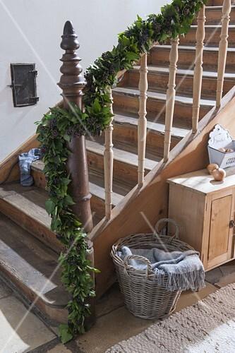 Girlande Binden efeu girlande binden bild kaufen friedrich strauss