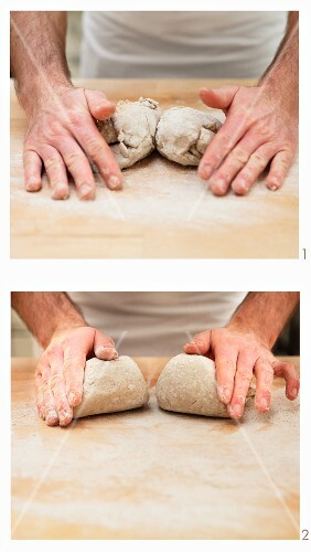 'Vinschgauer' rye bread rolls (South Tyrol)