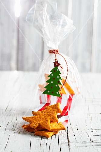 Christmas biscuits to give as a gift
