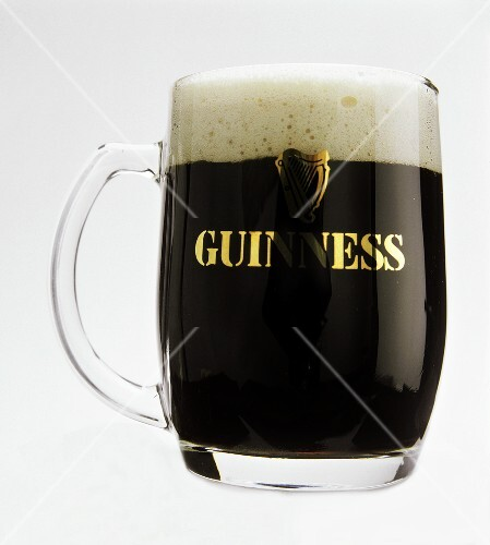 A glass of Guinness