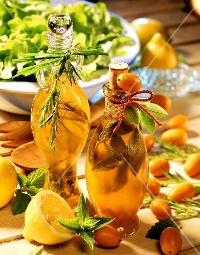Flavored Oil and Vinegar