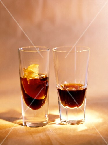 Two glasses of bitter digestives: Averna & Ramazzotti (3)