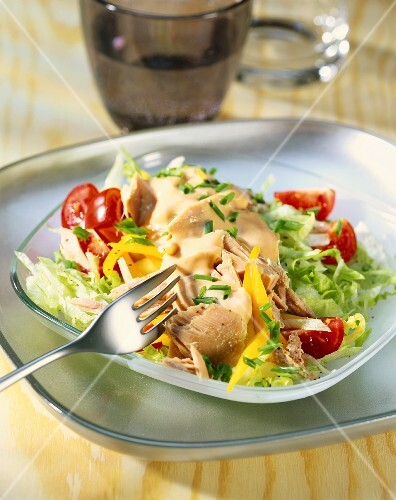 Thousand Island tuna salad (USA)