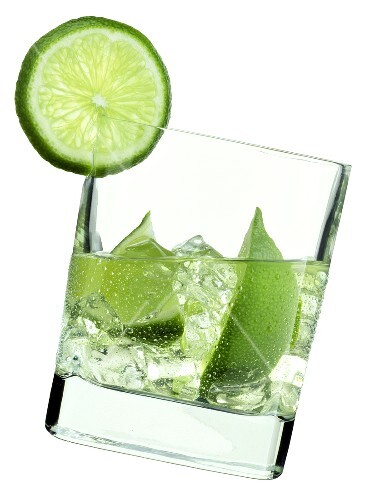 Water with Limes; Ice