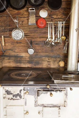 A kitchen in an Alpine chalet