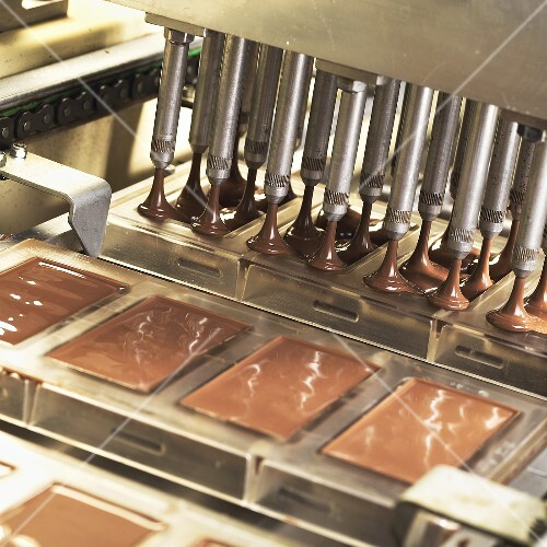 Industrial chocolate production