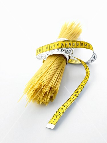 Spaghetti with tape measure