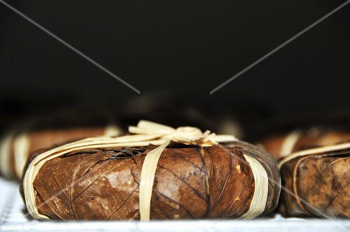 Banon de Provence (cheese wrapped in chestnut leaves)