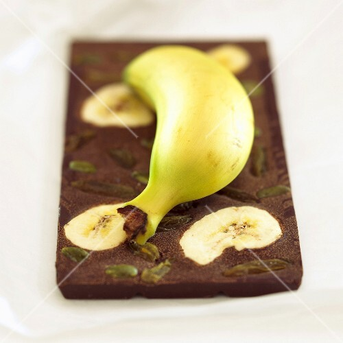Chocolate with banana