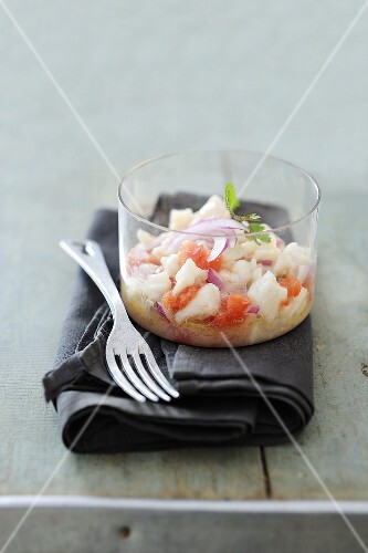 Bream ceviche