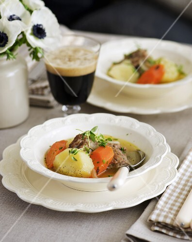 Irish stew (Lamb and vegetable stew, Ireland)