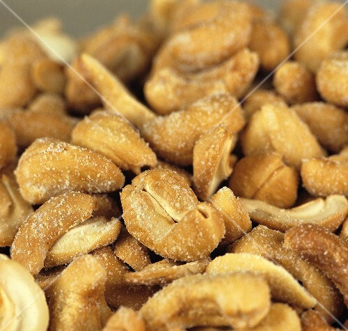 Roasted, salted cashew nuts