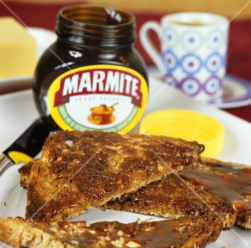 Marmite on wholemeal toast