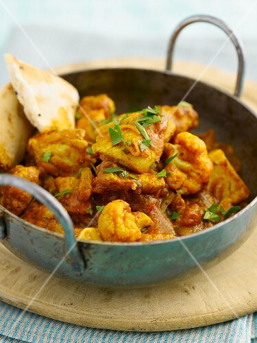 Chicken balti (chicken curry, India)