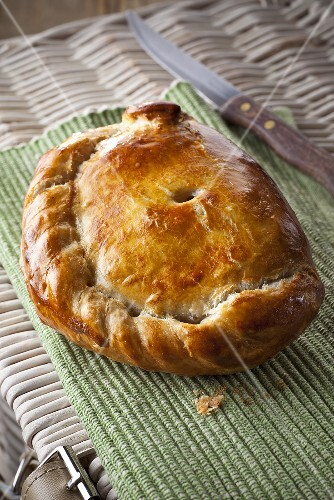 Cornish Pasty (Cornish pastry, England)