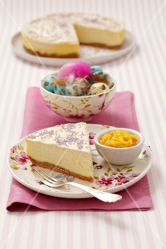 New York cheesecake for Easter