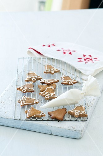 Bells made of gingerbread