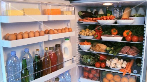 Full refrigerator