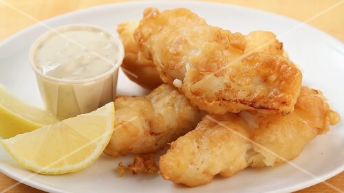 Battered haddock being prepared (US-English Voice Over)