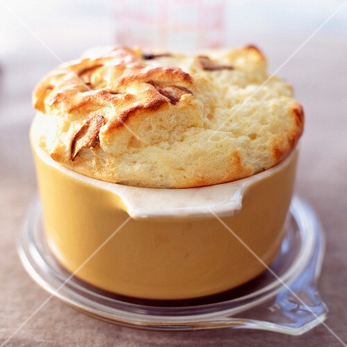 Cepe mushroom and Comté cheese soufflé