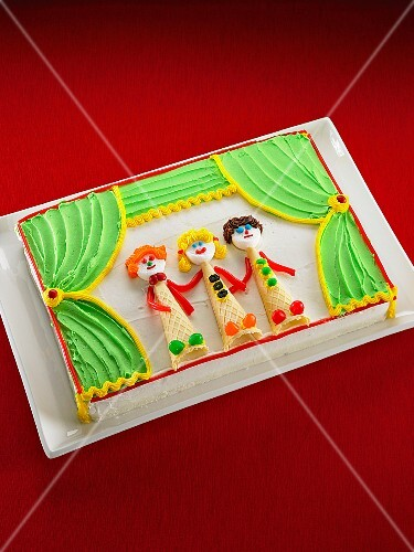 A theatre stage cake