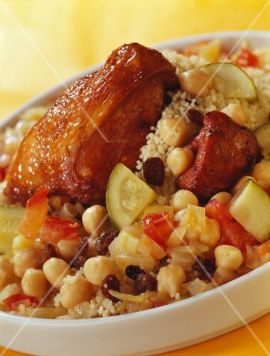 Light chicken Couscous