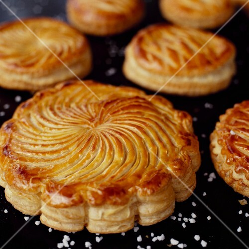 Galette des Rois (traditional three king's cake, France)