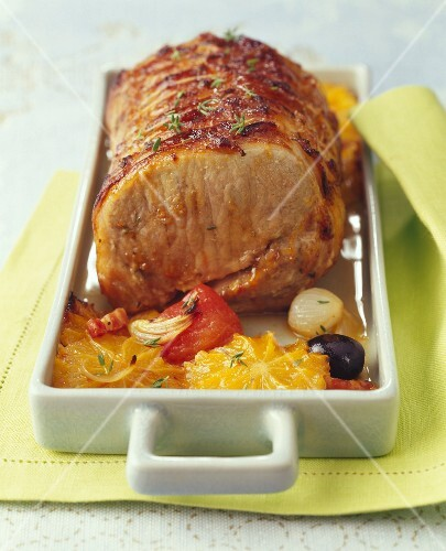 Andalusian-style roast pork
