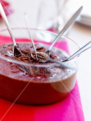 Chocolate mousse with Espelette pepper
