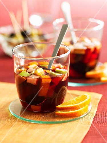 Glasses of Sangria