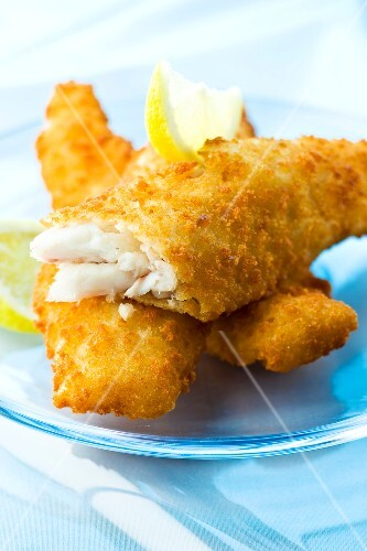 Breaded whiting fillets buy images stockfood for Whiting fish fillet