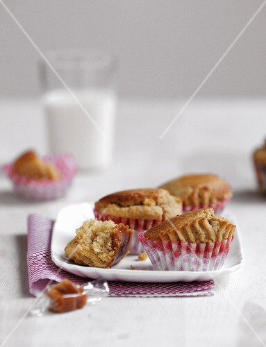 Salted butter toffee muffins