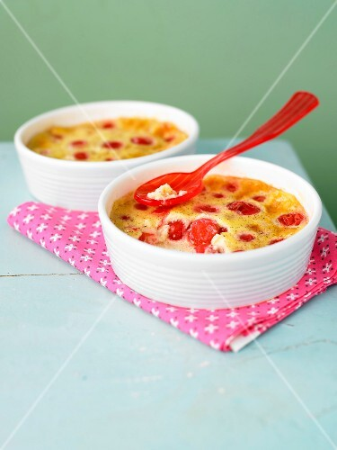 Cherry batter pudding