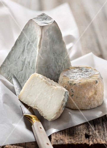 Pouligny-Saint-Pierre and Chavignol cheeses